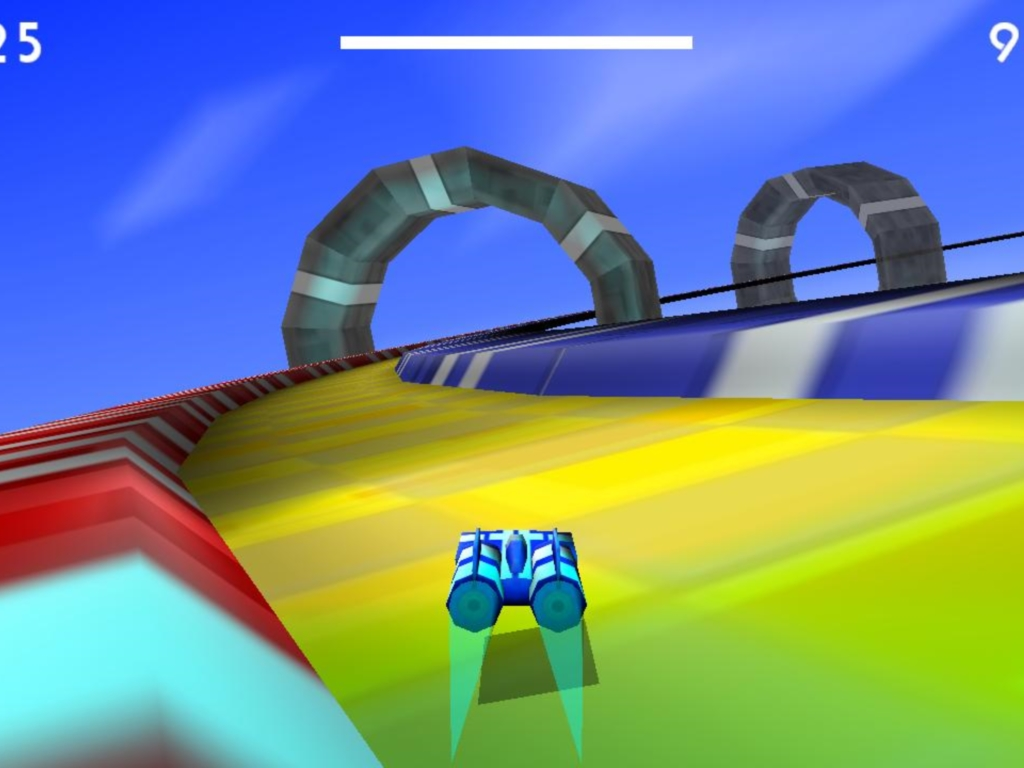 Hover Car Race Challenge Accepted! Windows, Android game
