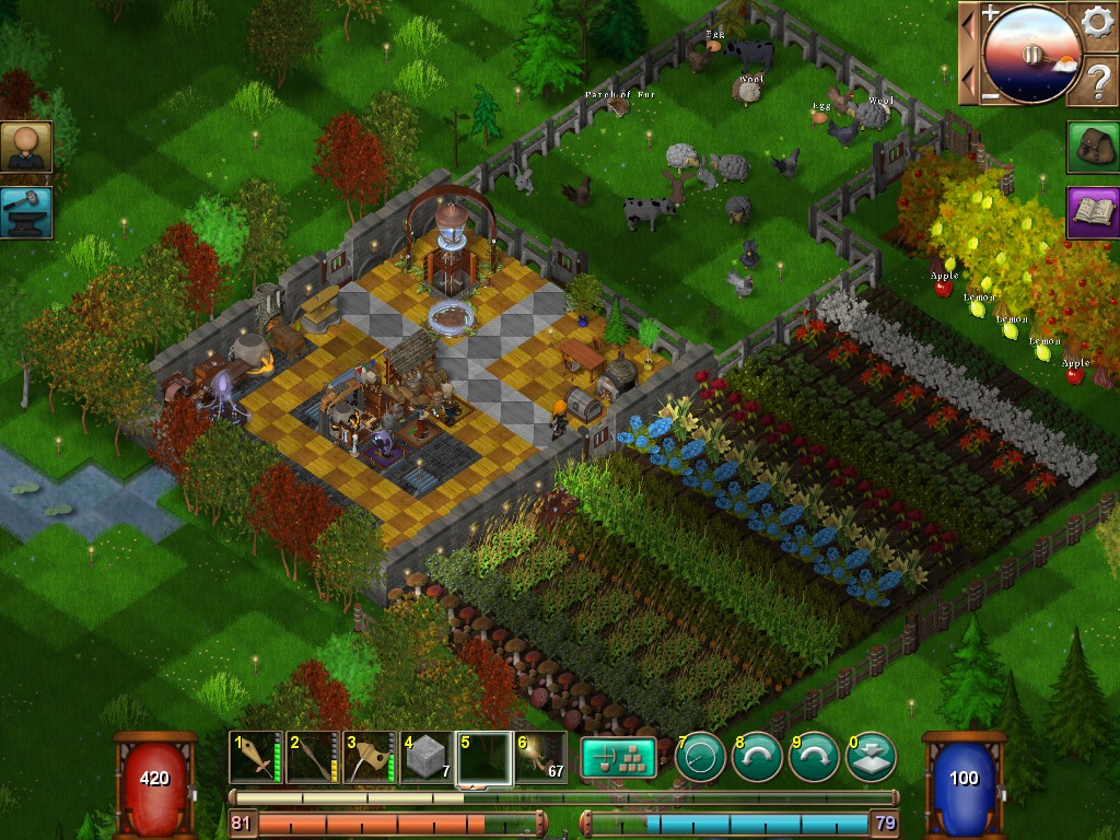 Lantern Forge User Screenshots