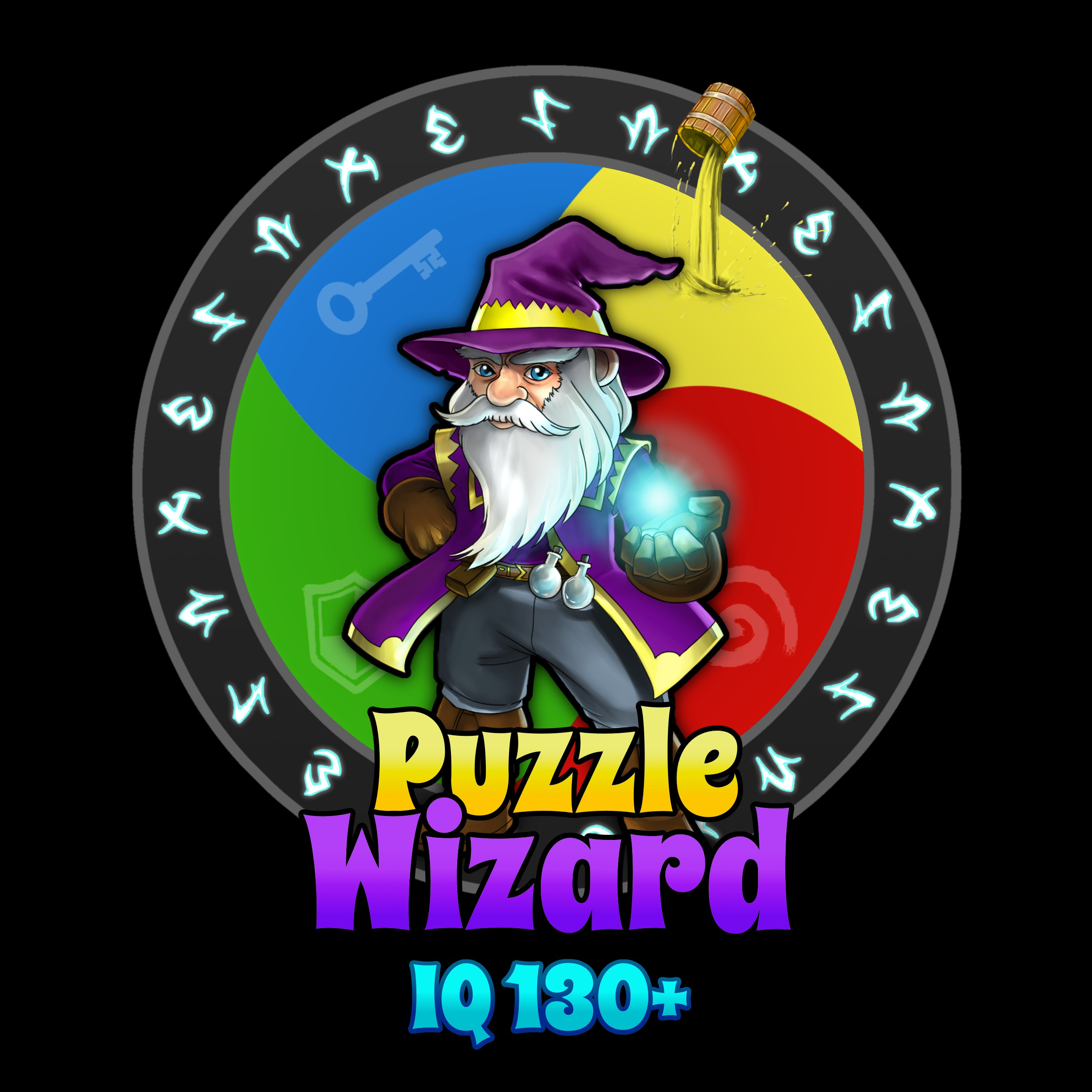 wizard puzzle game
