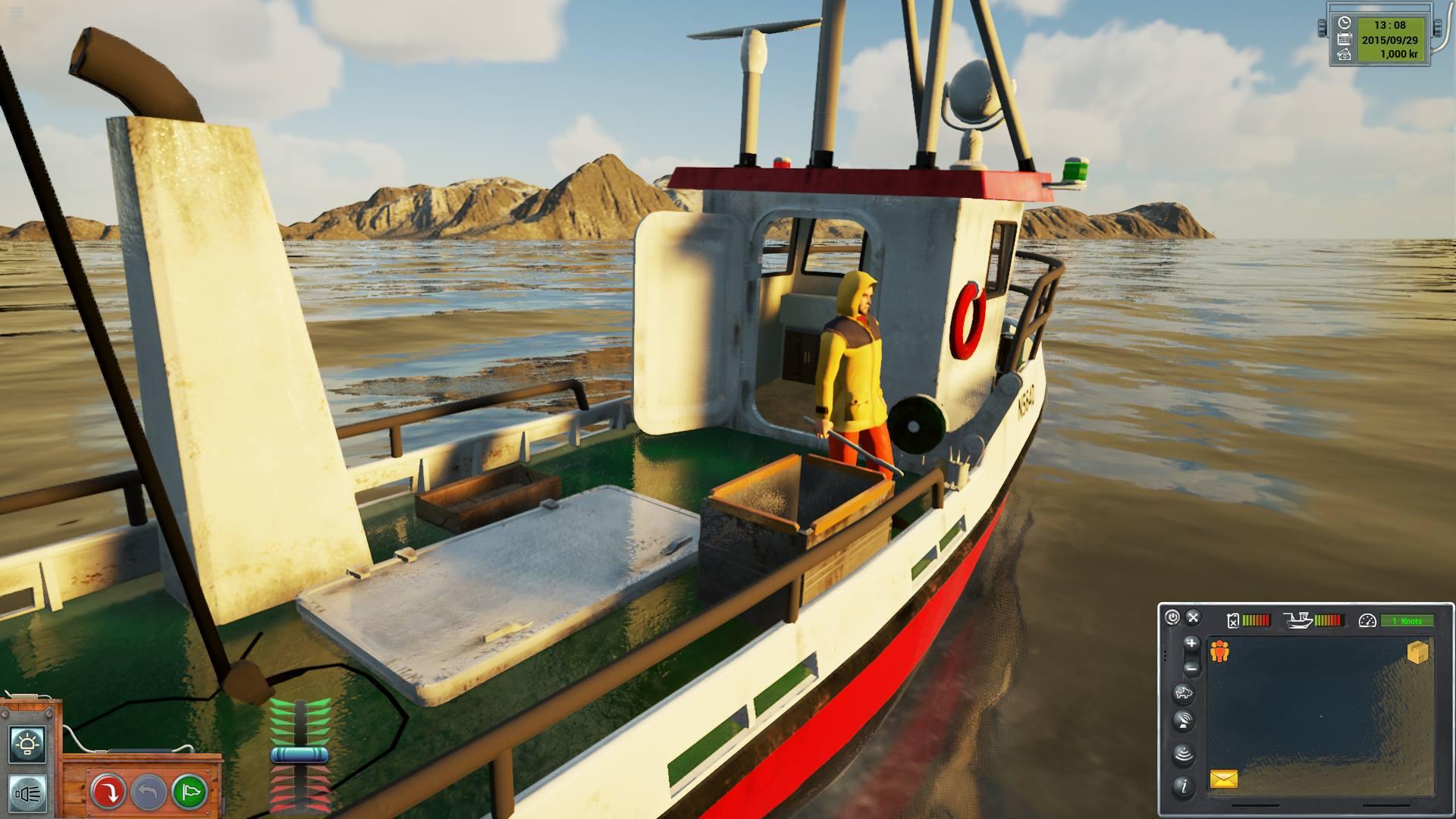Wheelhouse image fishing barents sea indie db for Sea fishing games