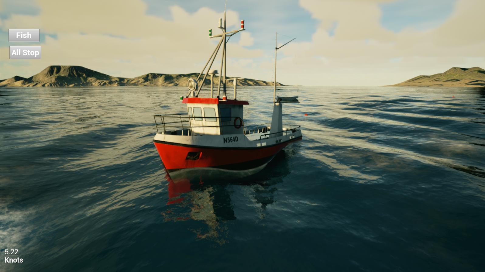 Screenshots image fishing barents sea game indie db for Sea fishing games