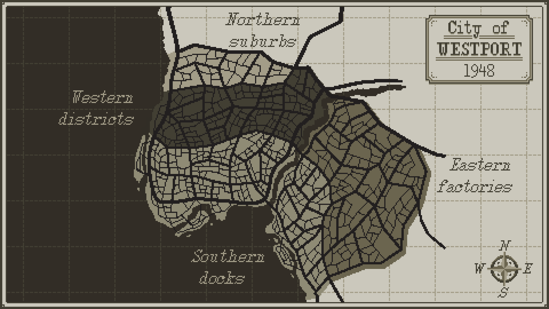 Map of Westport. (Click for full size)