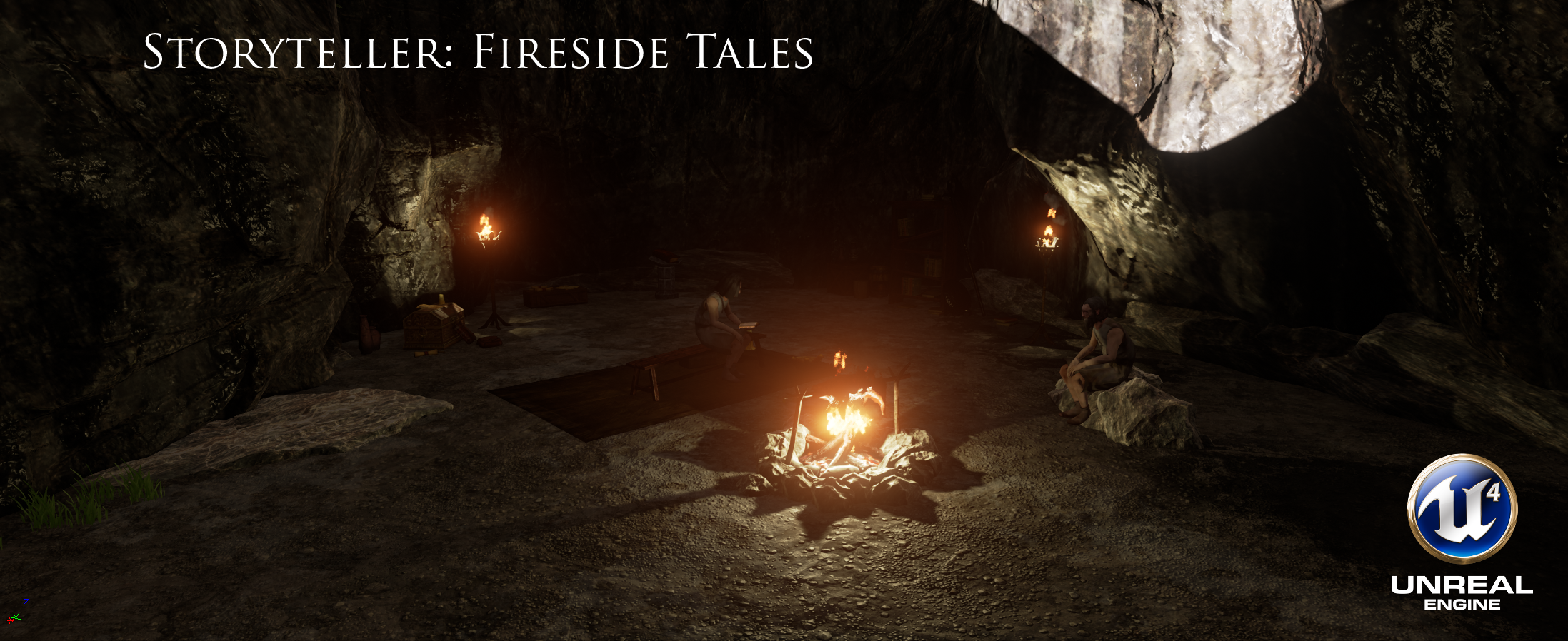 Storyteller: Fireside Tales Screenshots and Splash