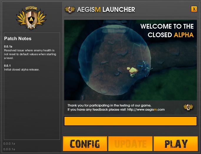 Closed Alpha Launcher
