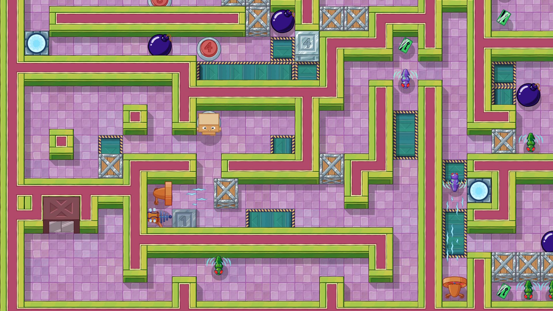 Box Kid Adventures Screenshot