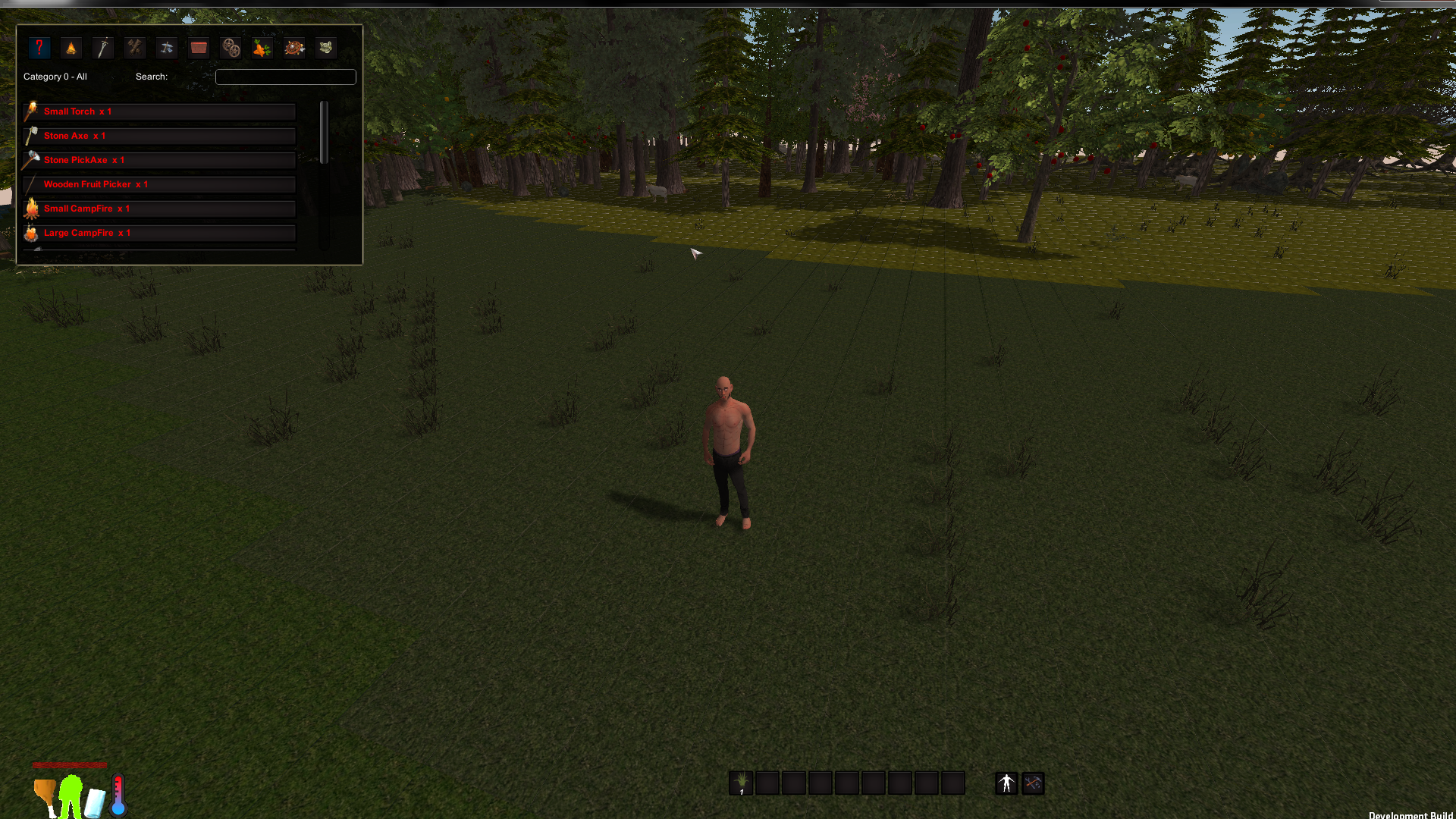 Extinct survival game windows mac linux indie db for Survival fishing games