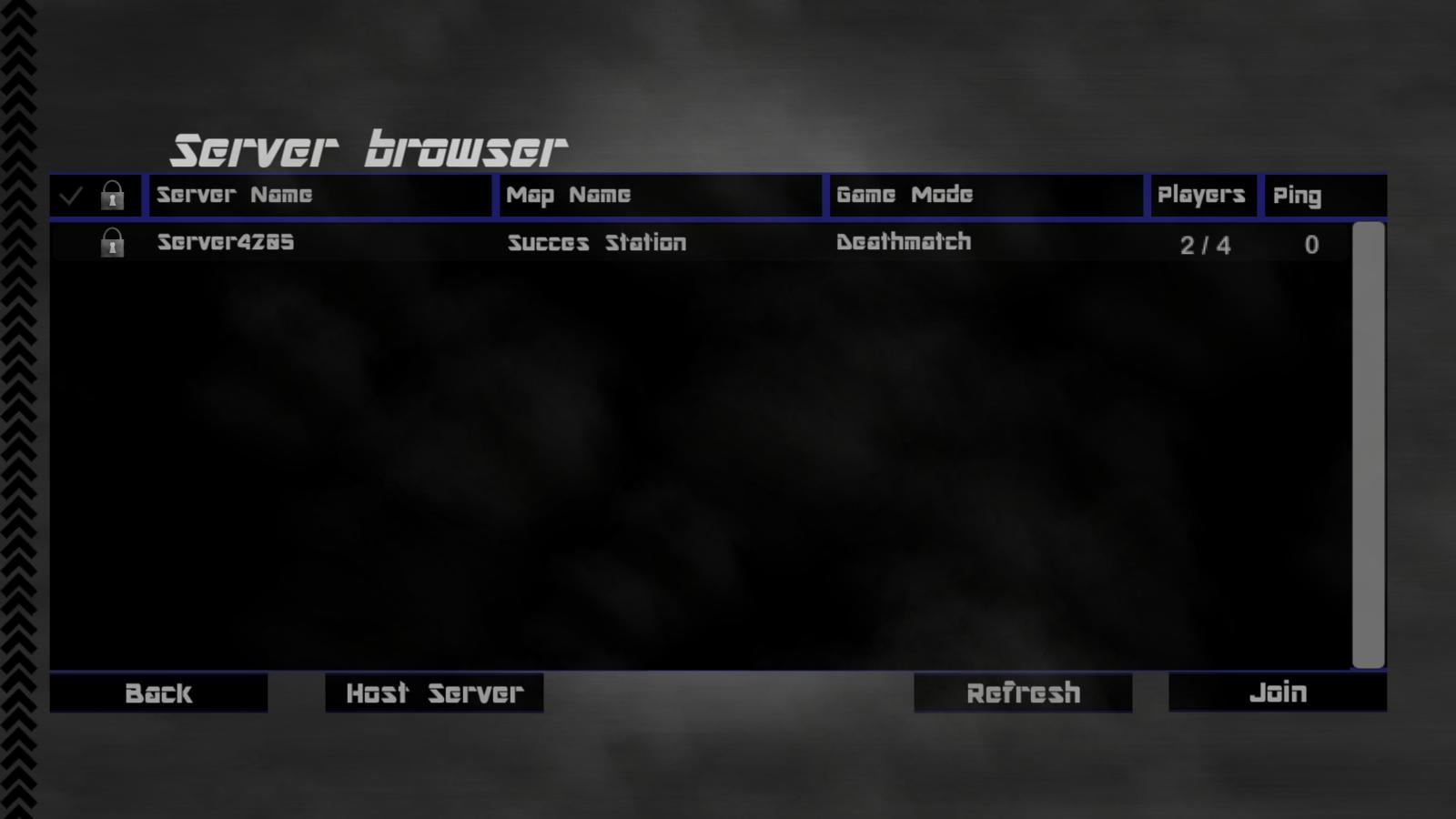 The server list menu image - War Heroes - Indie DB