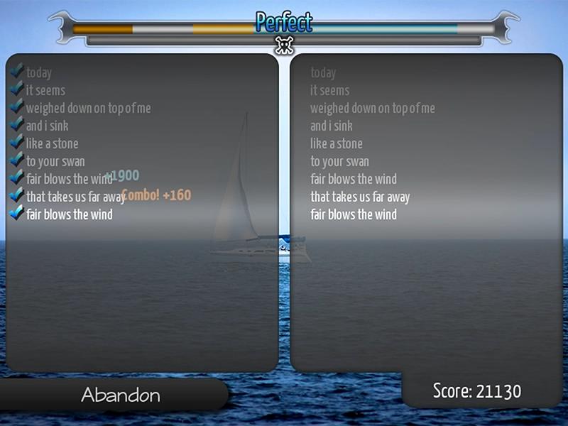 Keyraoke v3 screen showing combo points