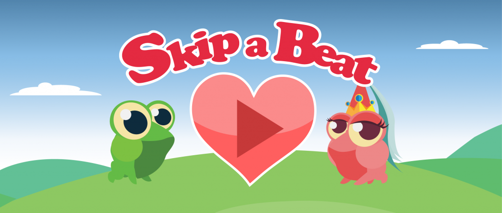 Skip a Beat Heart Rate Game