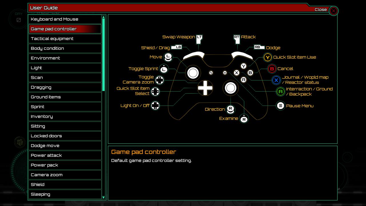 Subterrain controller mapping