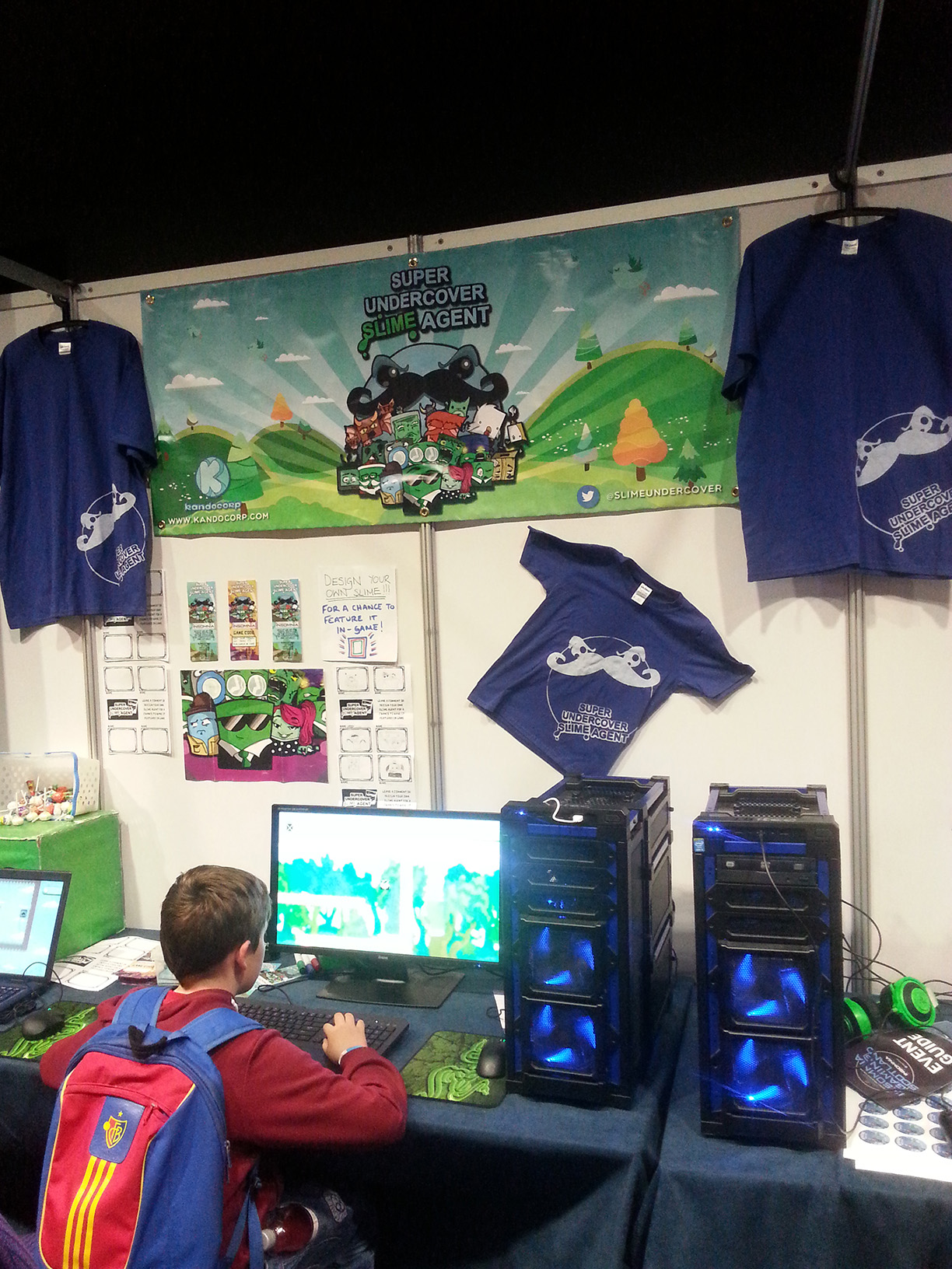 Booth At Insomnia Scotland