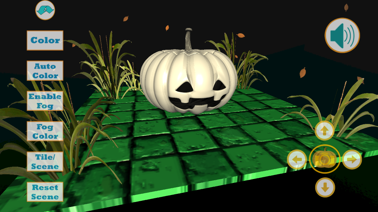 Jack o lantern screensaver
