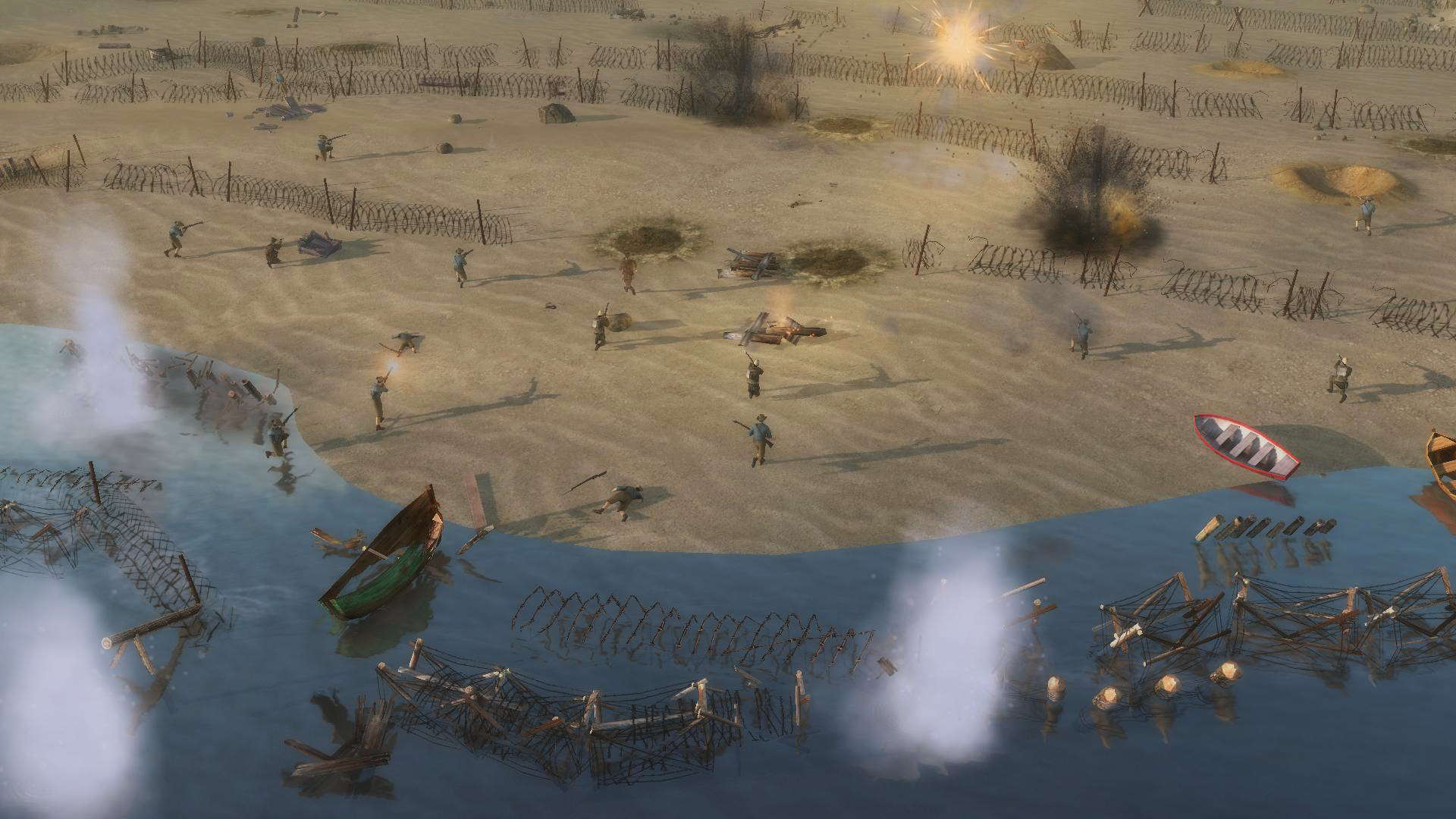 Battle of Empires: 1914-1918 - German campaign 2015 pc game Img-2