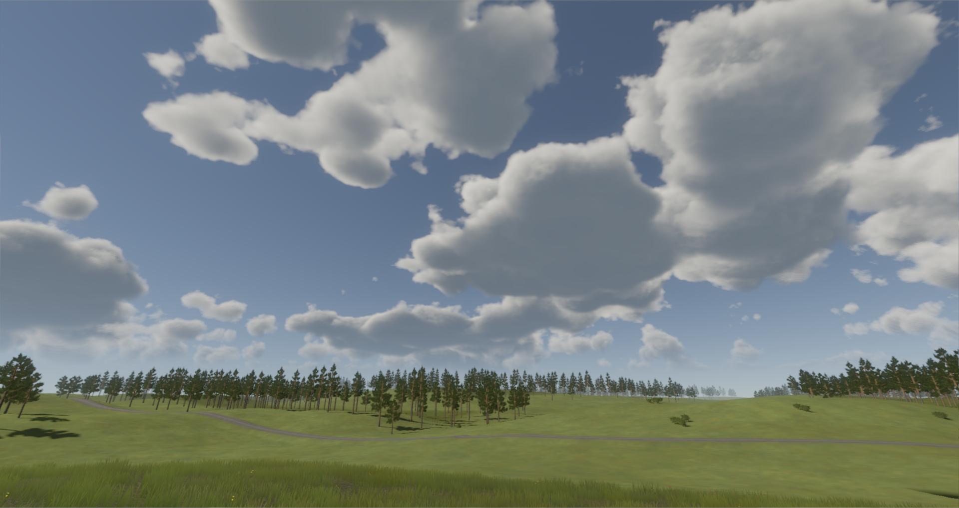 Volumetric Clouds 2 image - Afterconflict Lost War - Indie DB