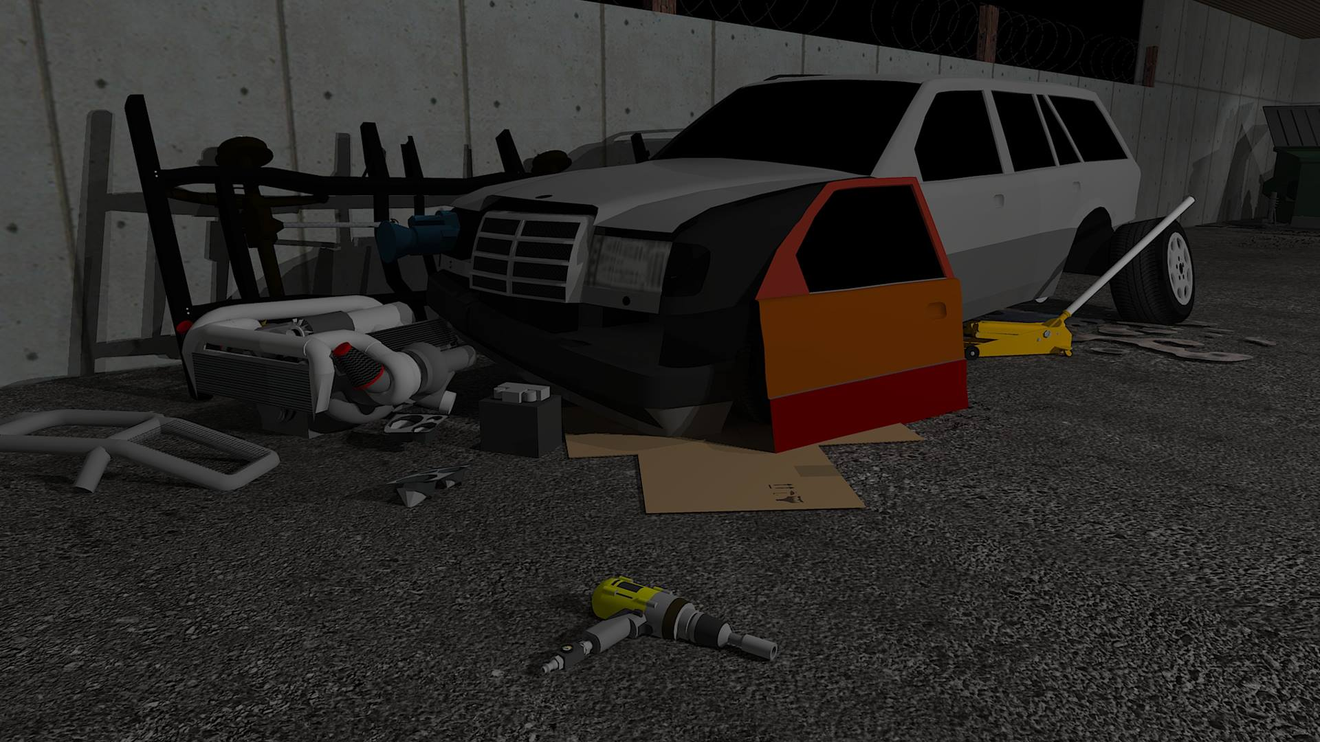 Fix My Car Zombie Survival iOS iPad Android AndroidTab game