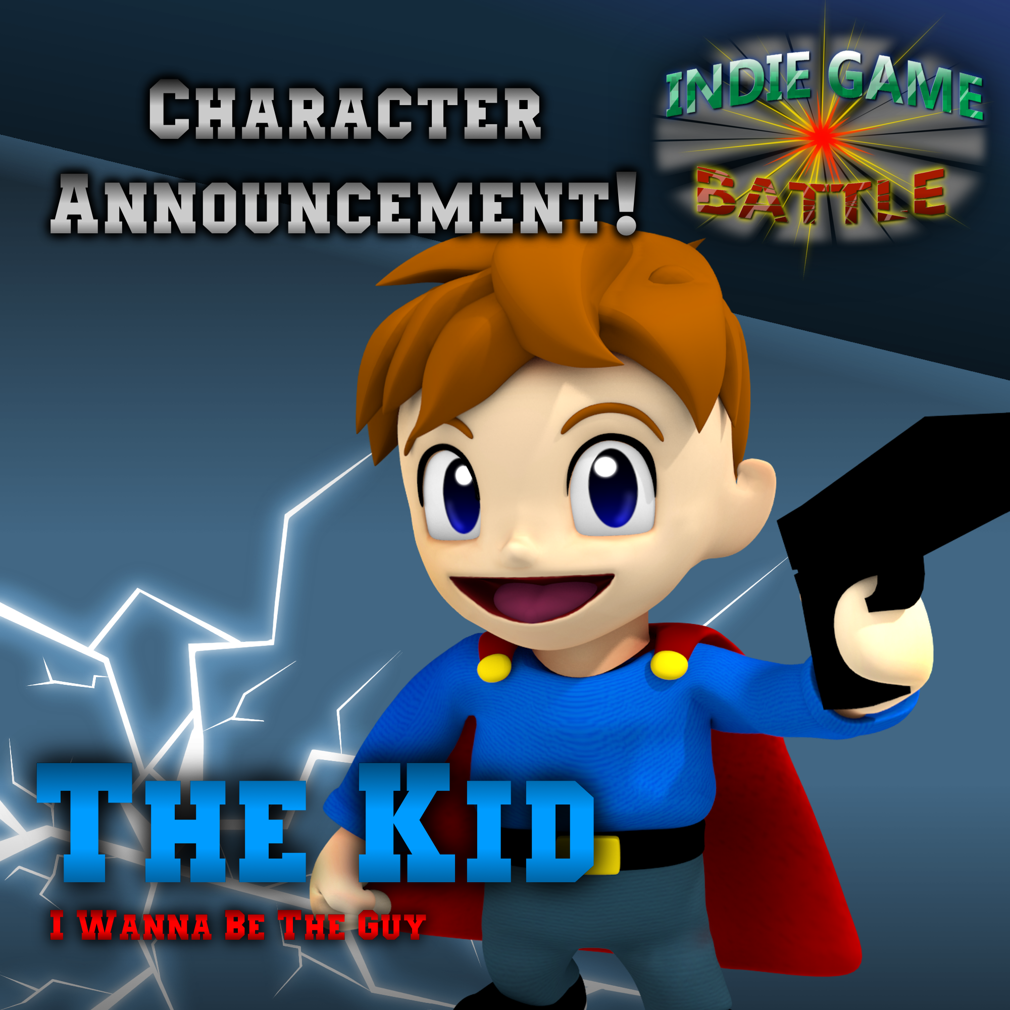 the kid from i wanna be the guy joins indie game battle image