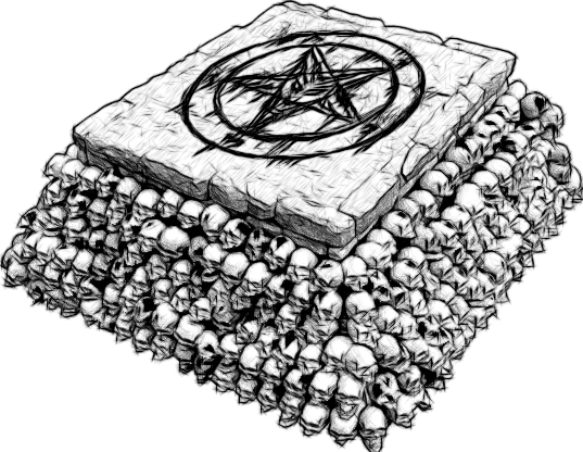 Dark Altar Sketch