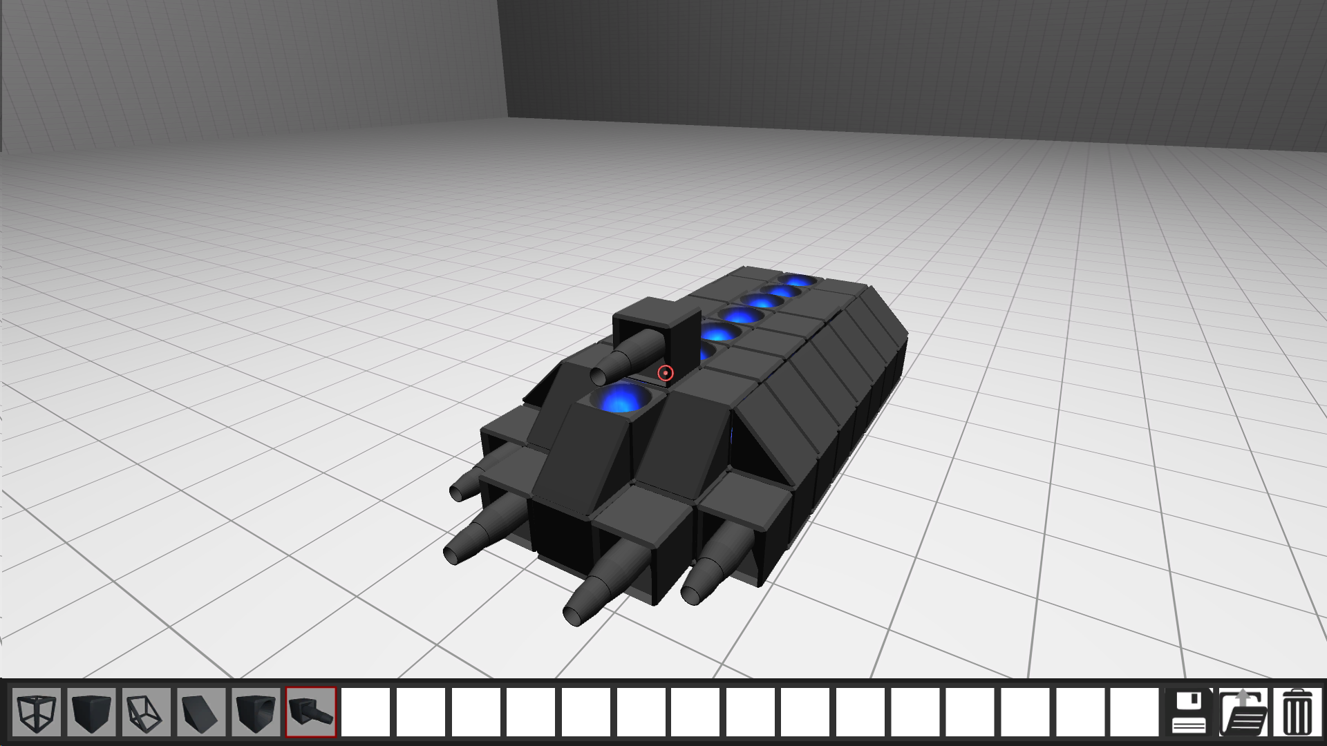 Hangar, building a ship image - Disorder in Space - Indie DB
