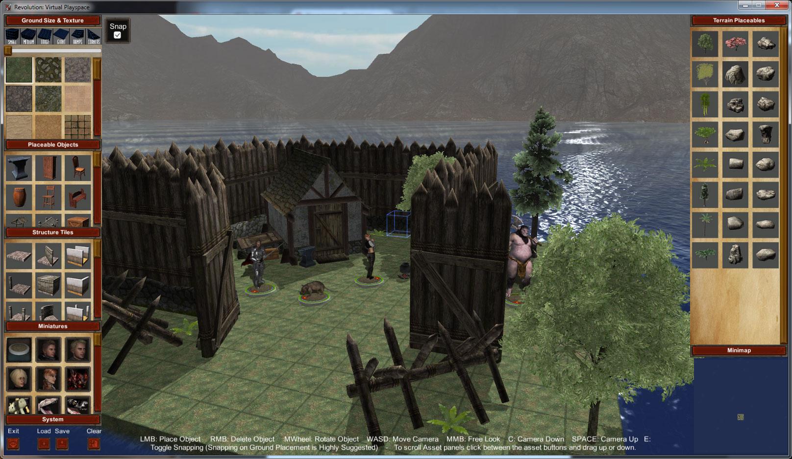 R:VPS image - Revolution : Virtual Playspace - Indie DB