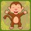 Rope the monkey