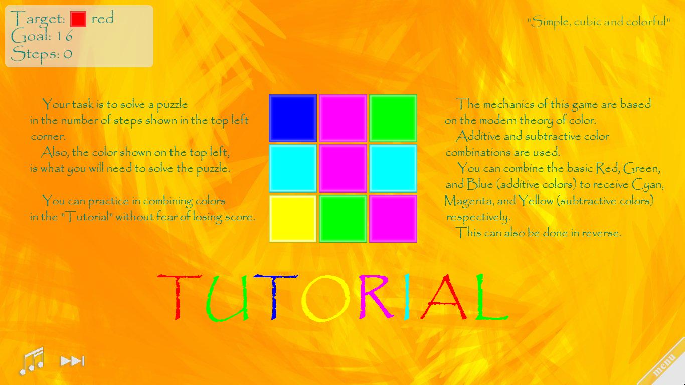 tutorial screenshot image - Color Chemistry