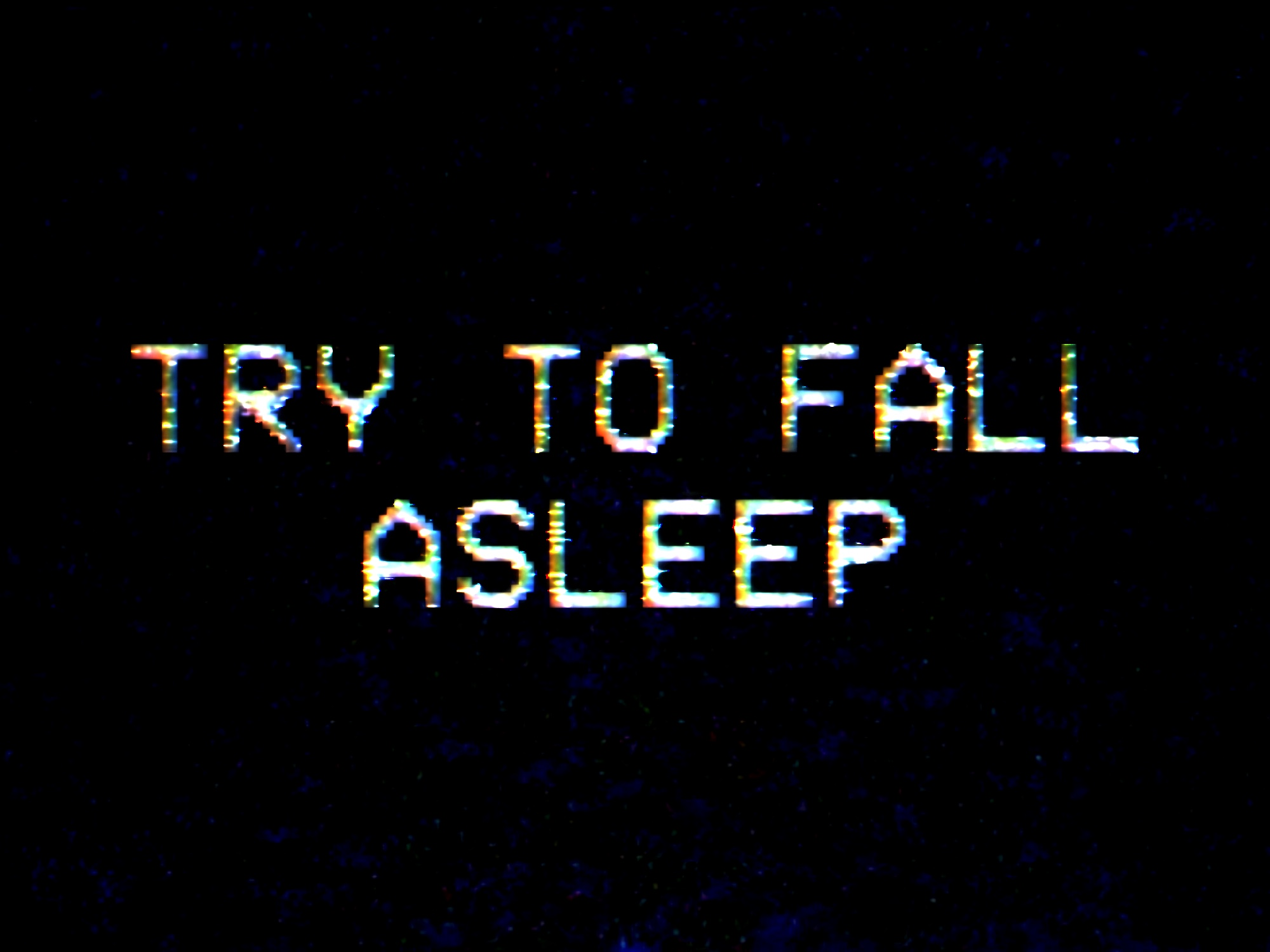 Try To Fall Asleep Windows, Mac, VR game - Indie DB