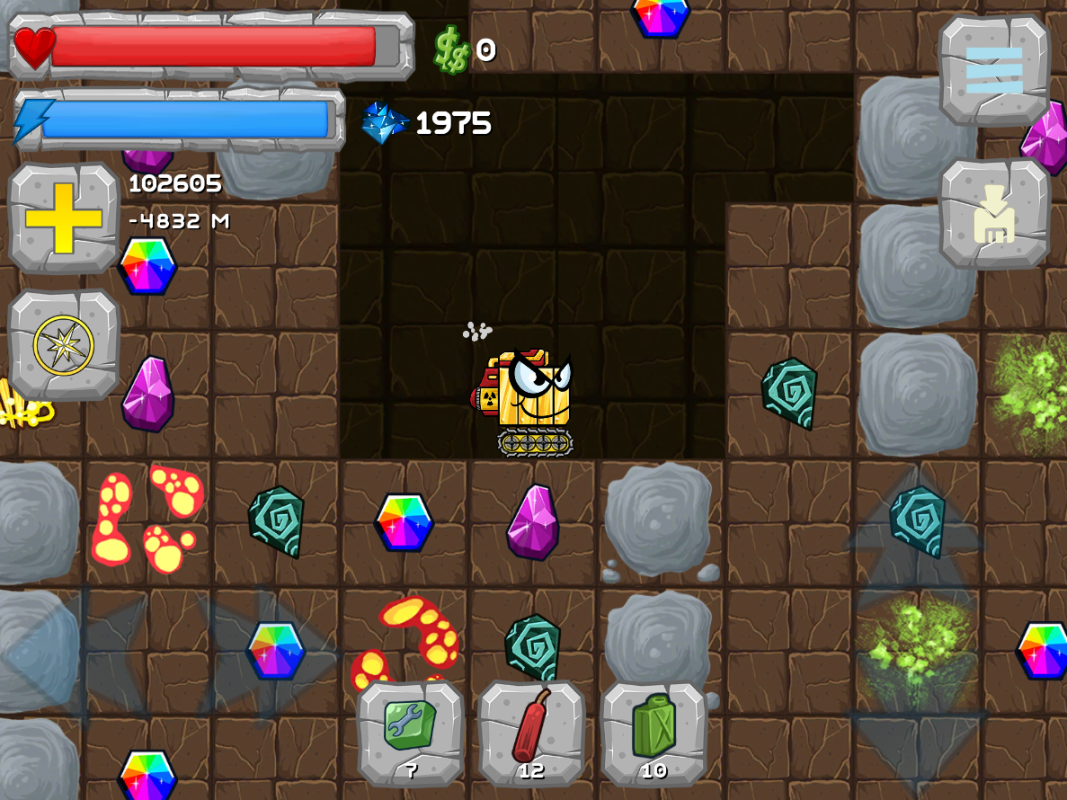 new ui and gold diggy image digger machine dig and find minerals