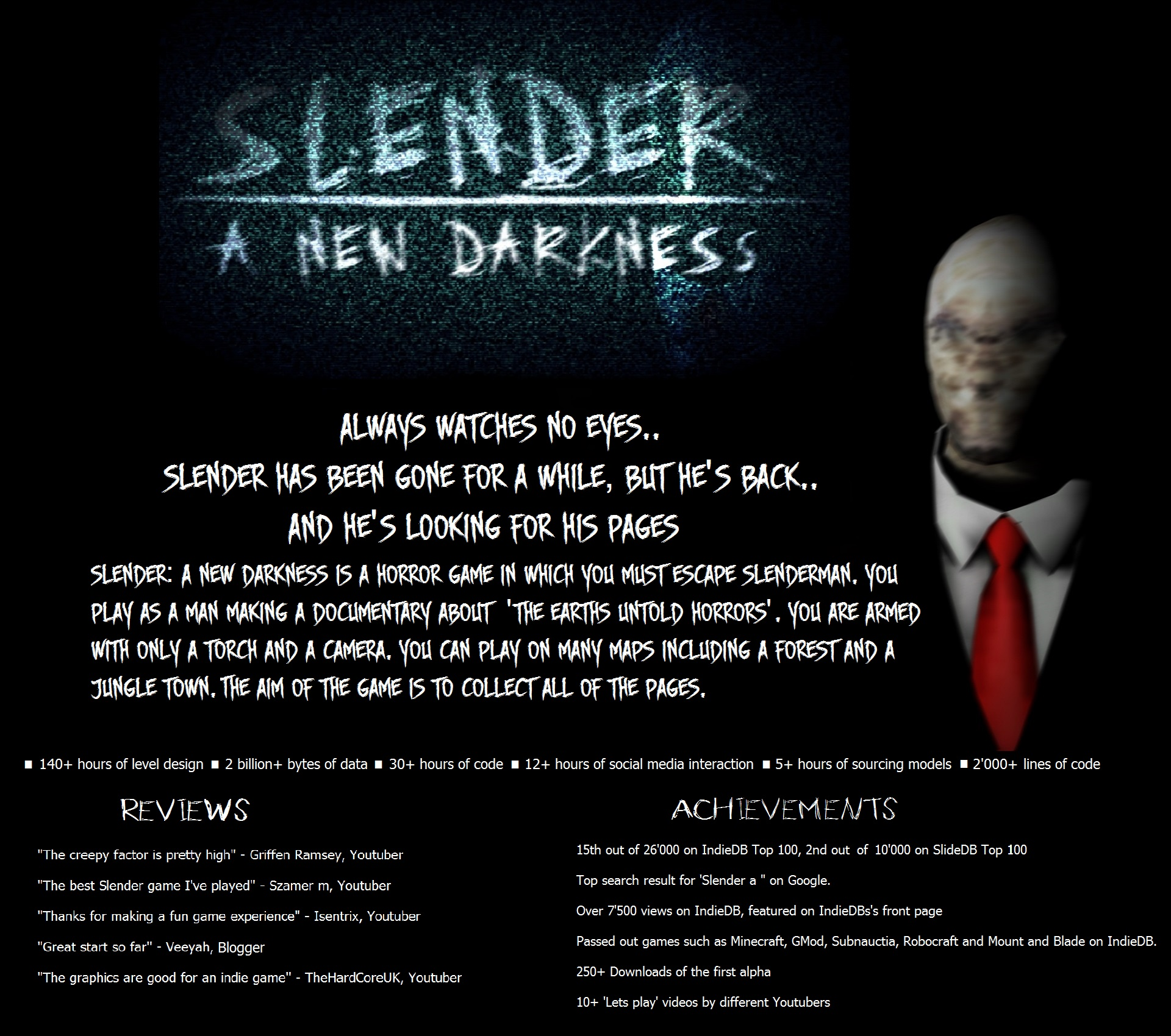 poster for coolest projects image a step into darkness indie db