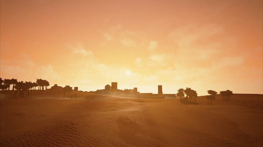 Al-Hamra, scenic view