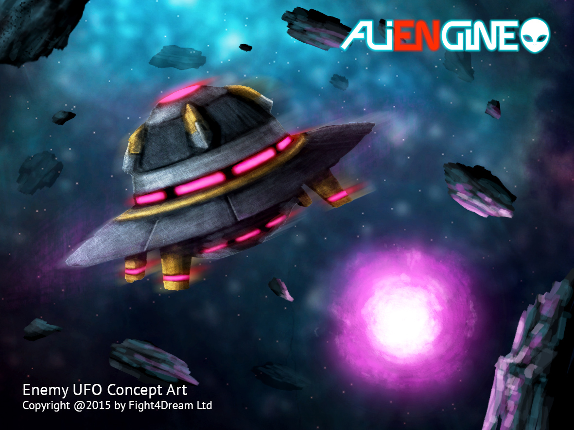 Concept Art Of Ufo Image Aliengine Indie Db