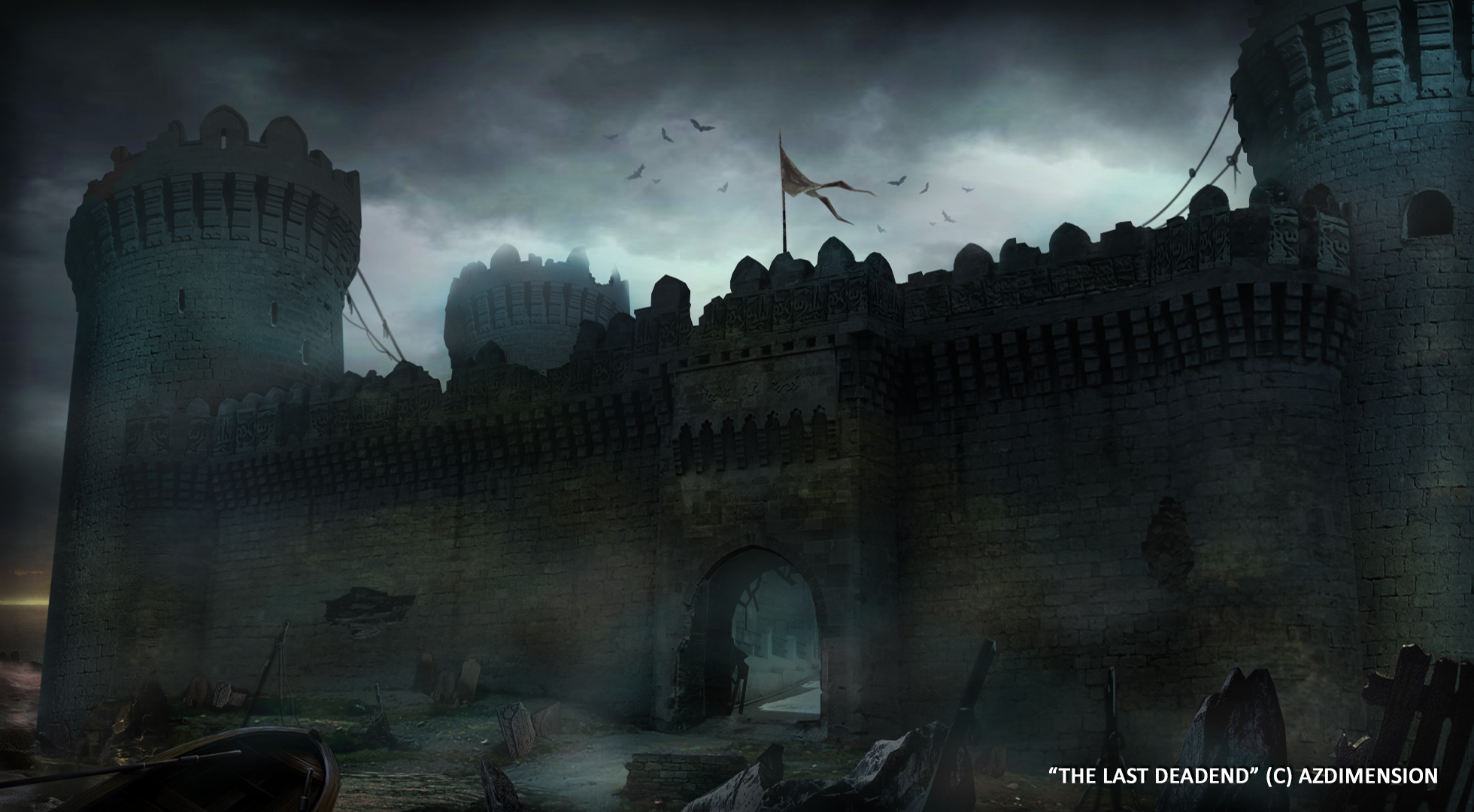 castle concept art by - photo #20