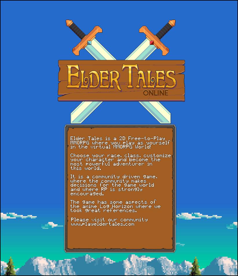 Elder Tales - Fantasy MMORPG 2D Windows, Mac, Linux game