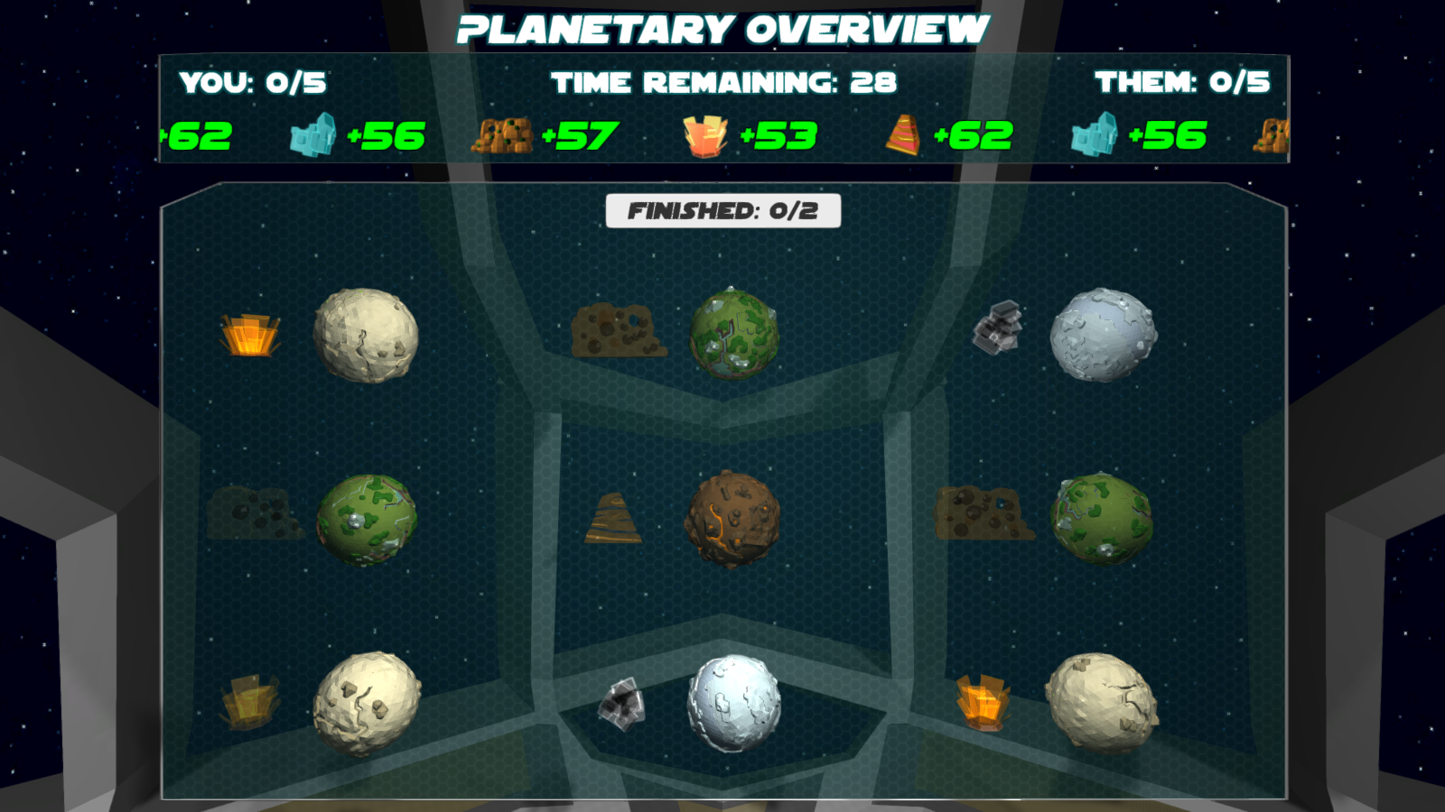 Planetary Overview - Game Start