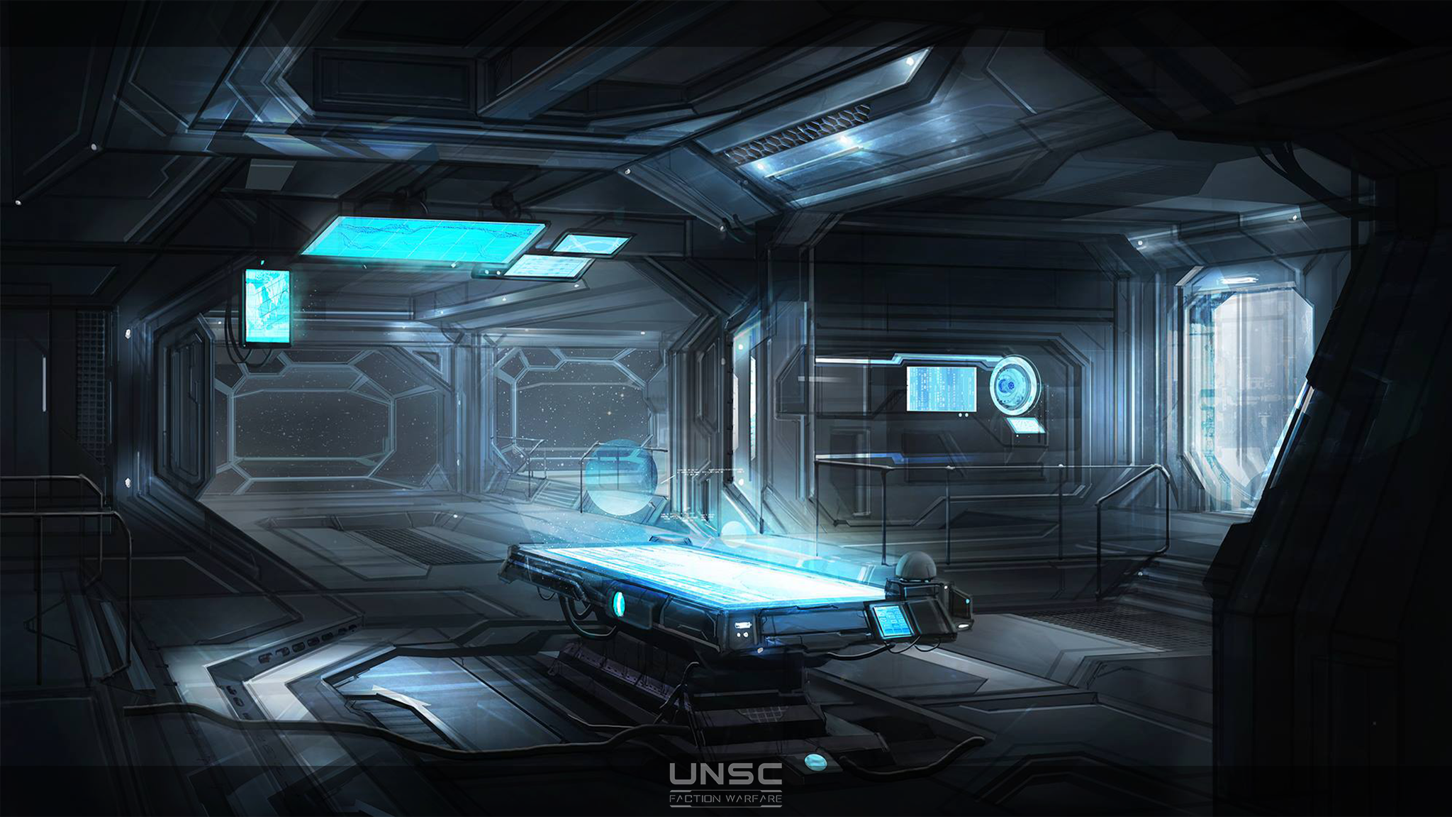 Concept Art - UNSC Ship Bridge image - Indie DB