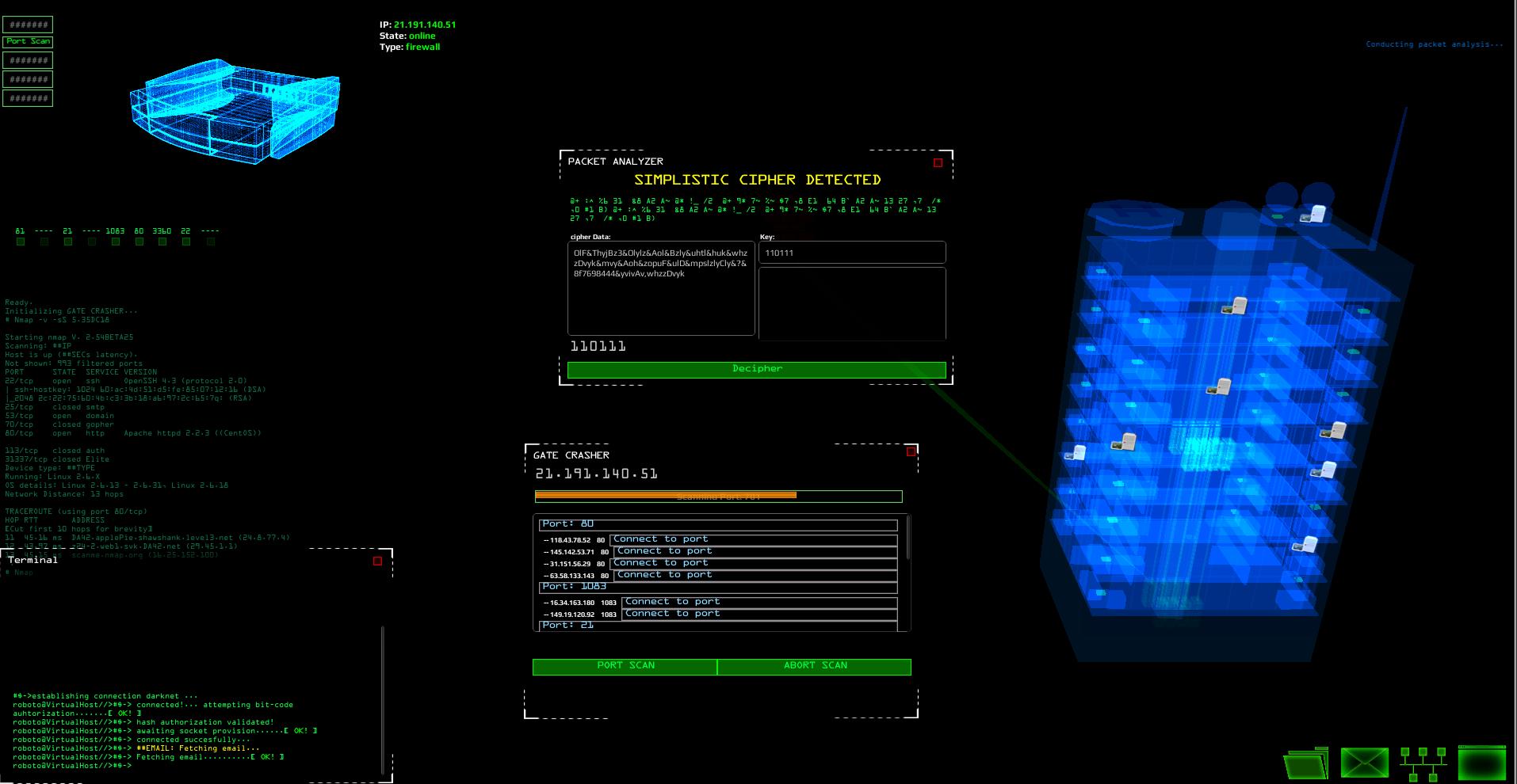 geekprank hacker simulator