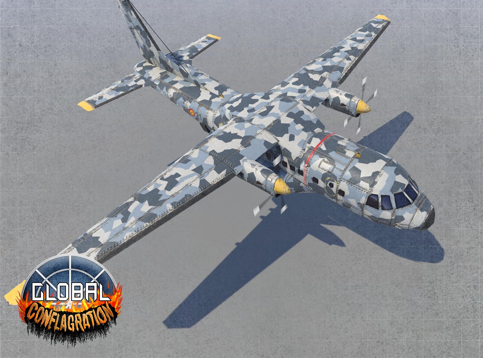 Cn 235 Edu Gunship Remastered Image Global