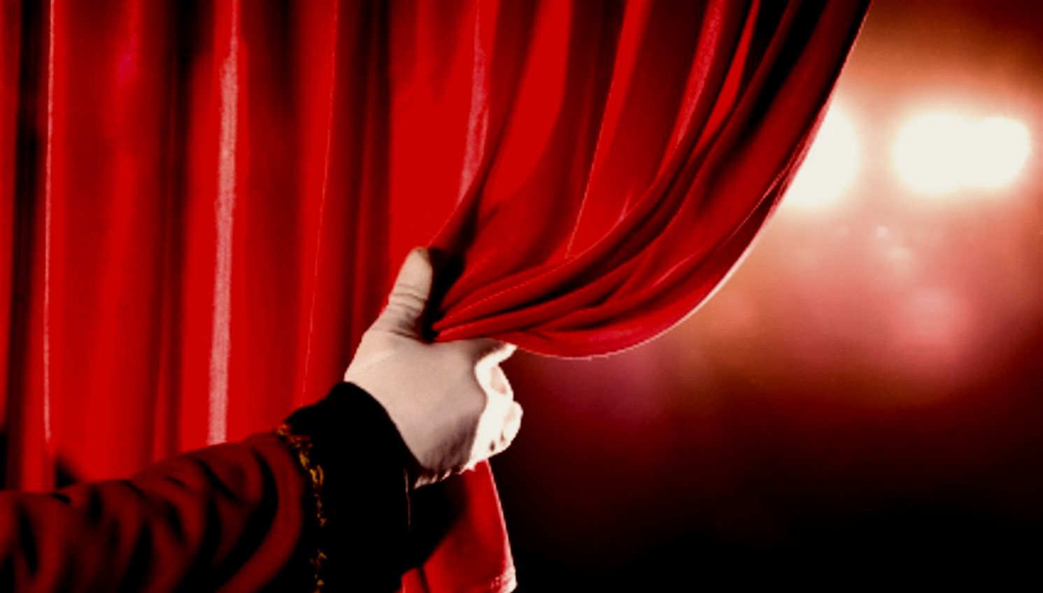 (view Original). The Curtain Is Drawn.