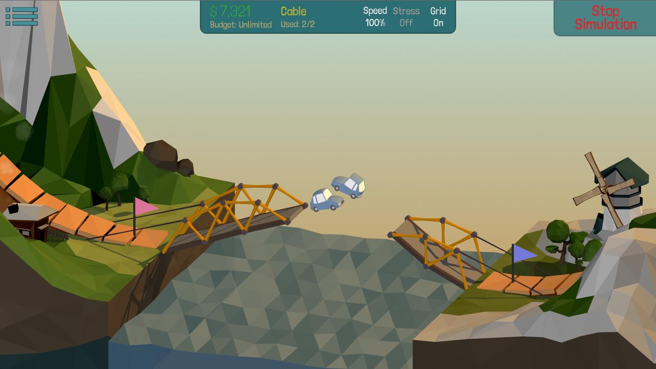 Vr Games Job Simulator >> Poly Bridge Windows, Mac, Linux game - Indie DB