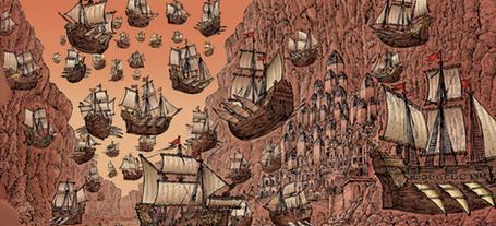 The Martian Armada!