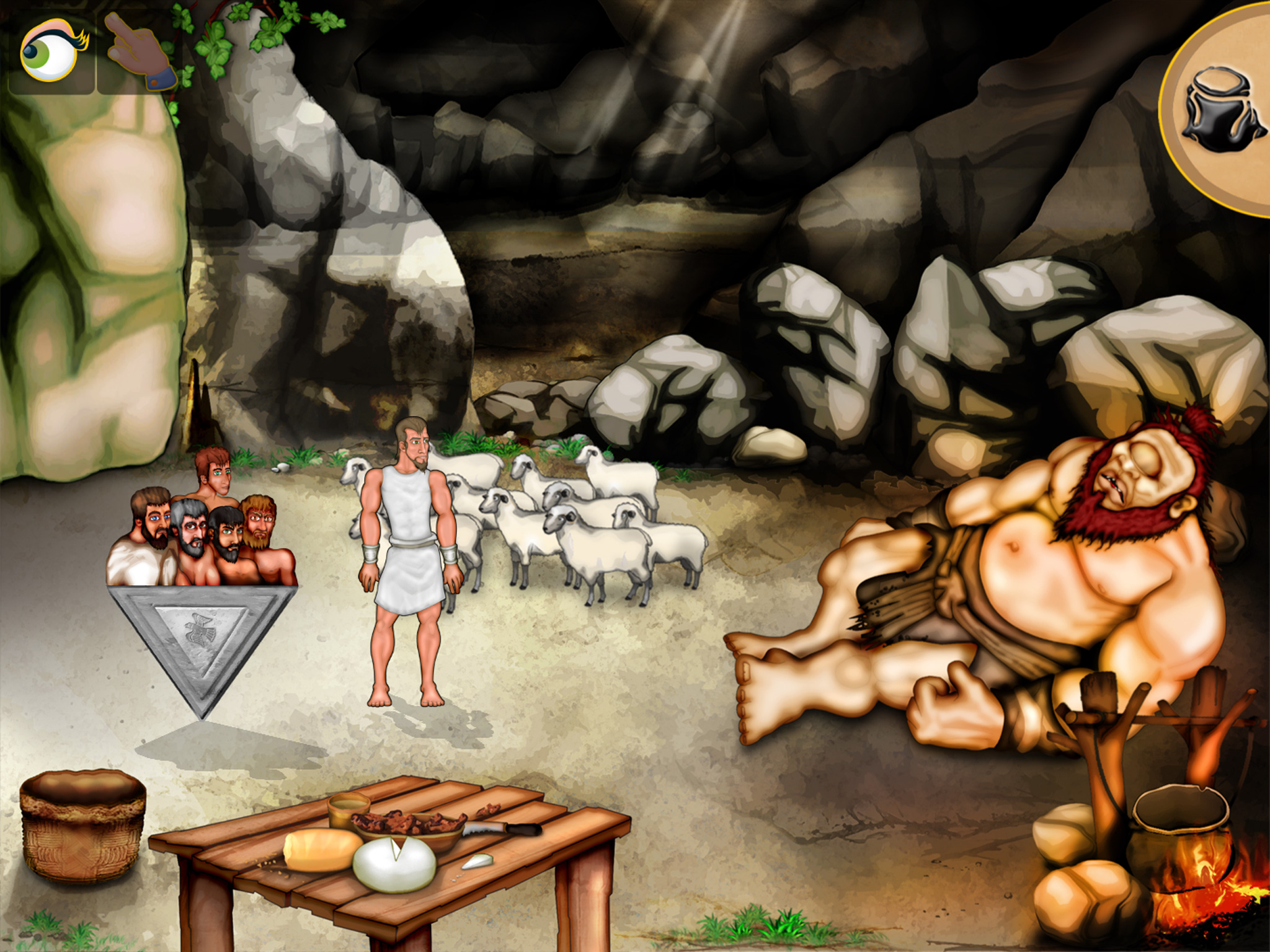 in the cyclops cave image the odyssey hd indie db