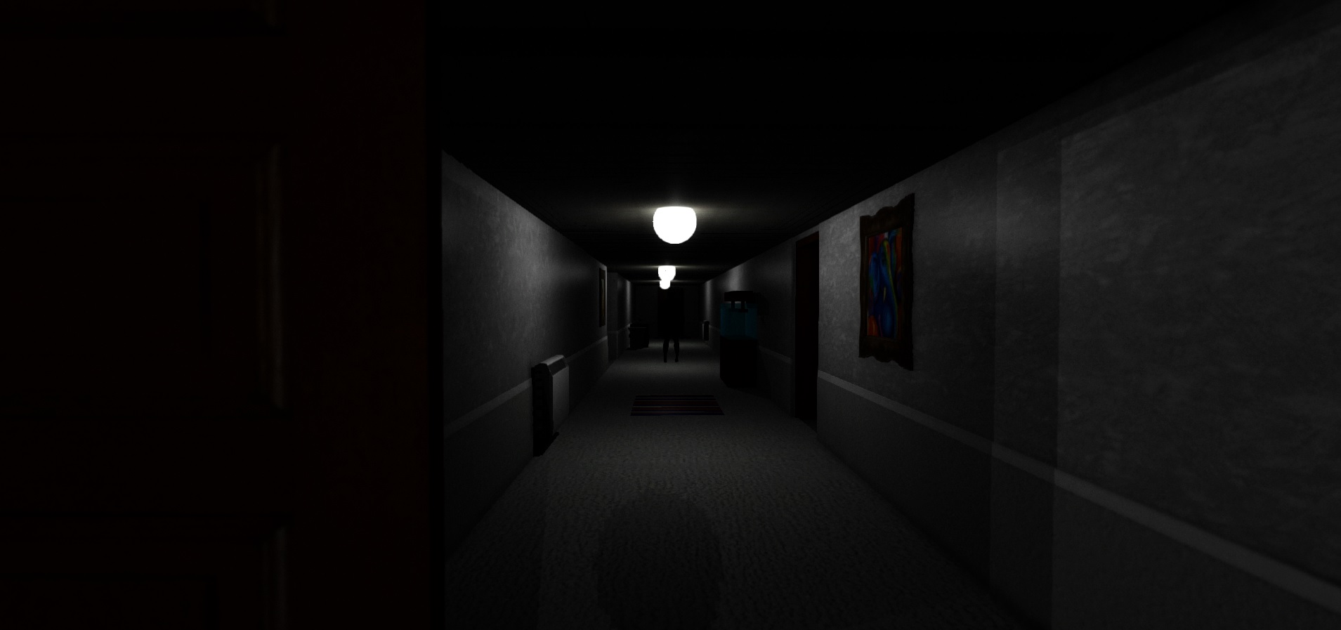Corridor image shadows a short horror game indie db add media report rss corridor view original sciox Images