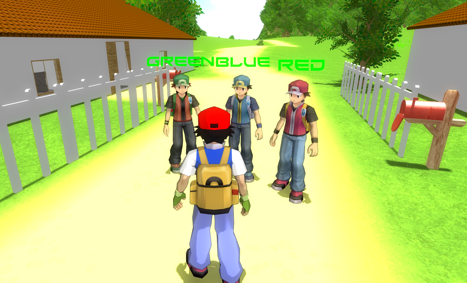 Character customization image - Pokémon MMO 3D - Indie DB