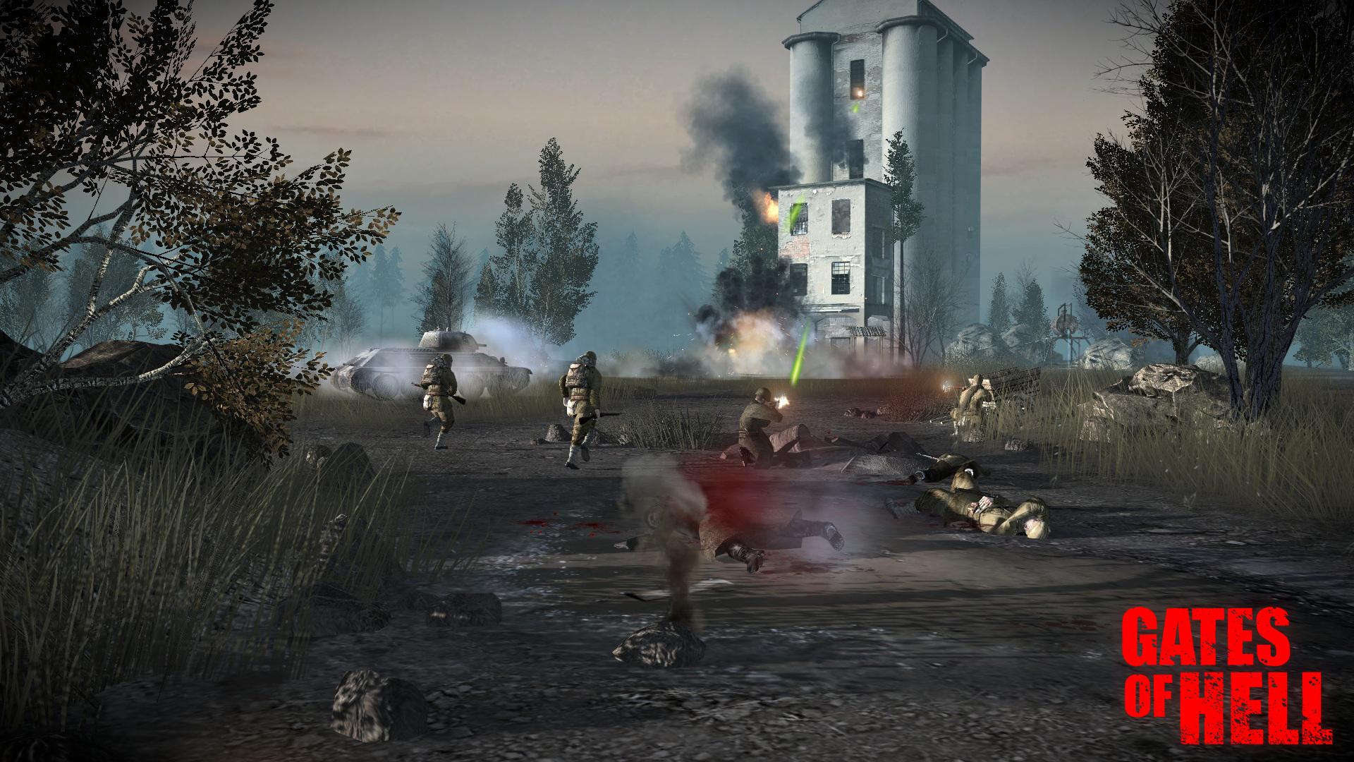 Gates of Hell — анонс новой игры, дневники разработчиков