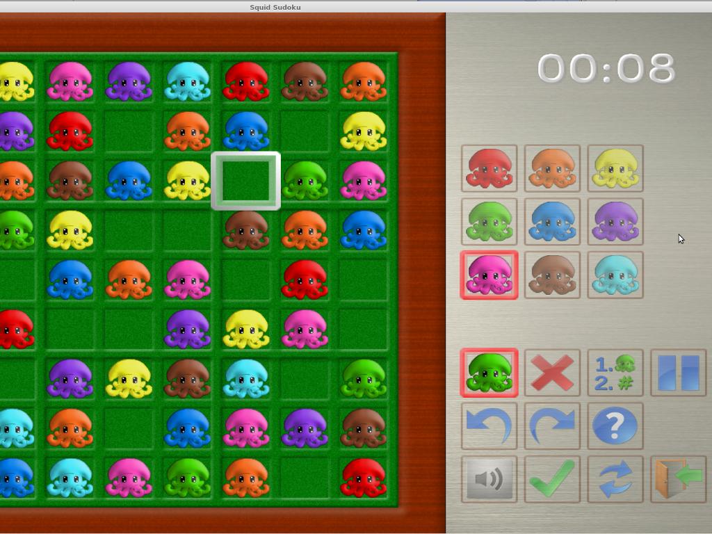 Squid Sudoku Windows, Mac, Linux game - Indie DB