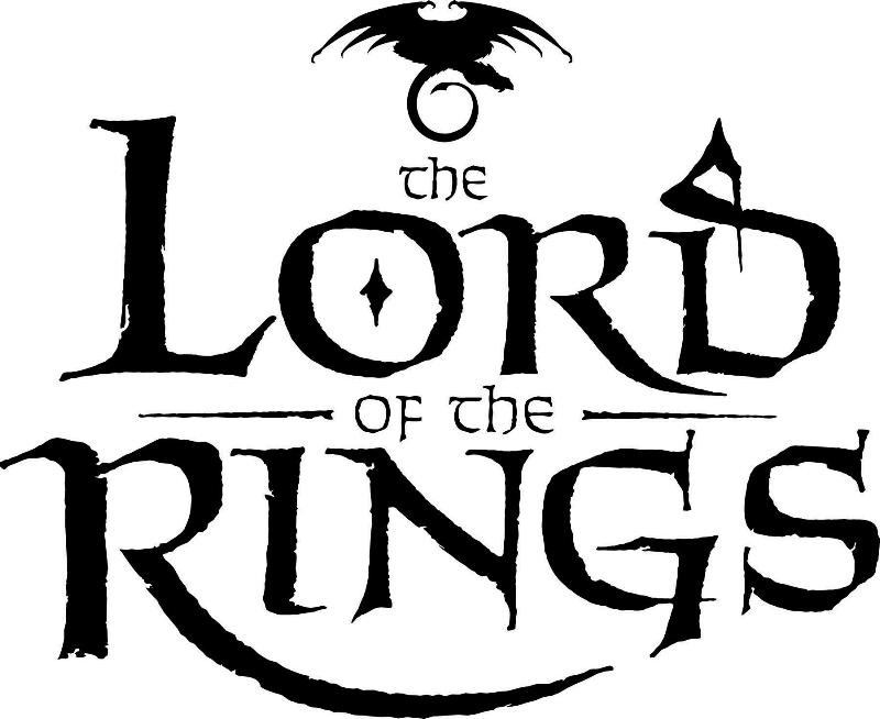 Lord Of The Rings Black And White Art