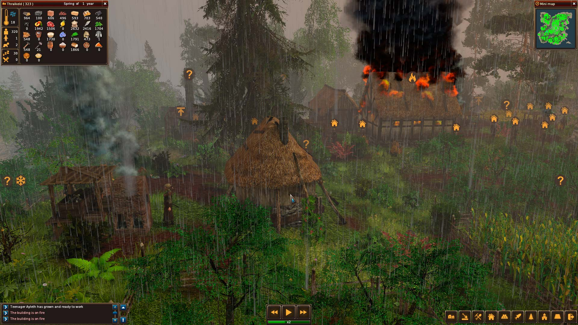 Life is feudal forest village official site оригинальная ролевая игра