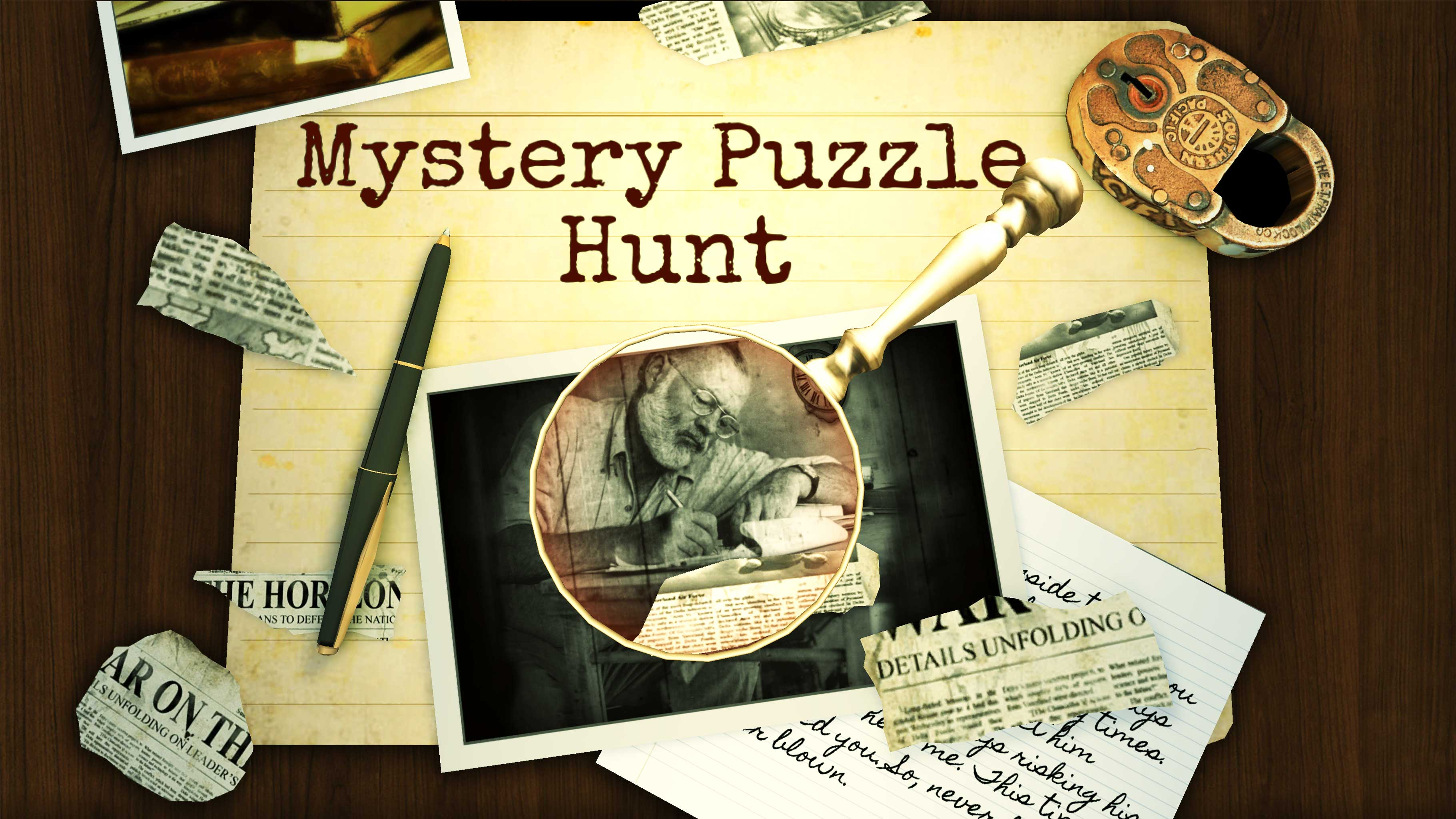 Mystery Puzzle Hunt : A Realistic Riddle Game Windows, Mac, Linux, Web, iPhone, iPad, Android