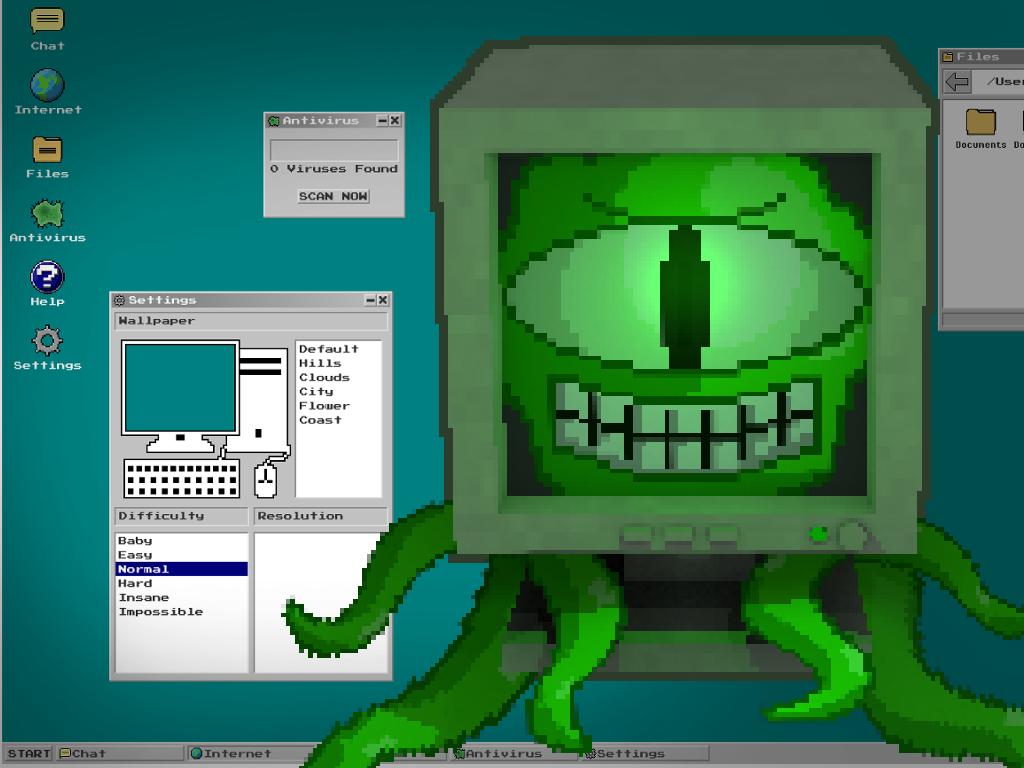 Don't Get a Virus Windows, Mac, Linux game - Indie DB