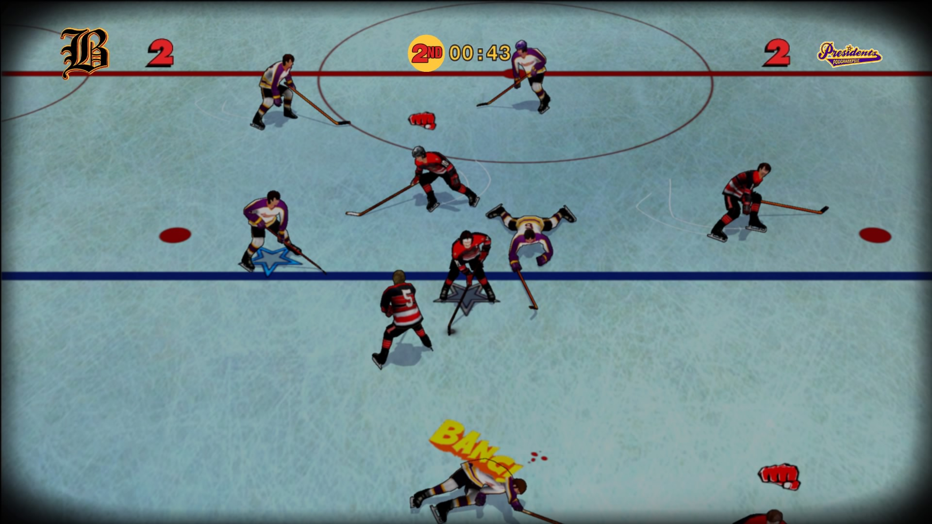 If You Can T Play Nice Play Old Time Hockey Image Indie Db