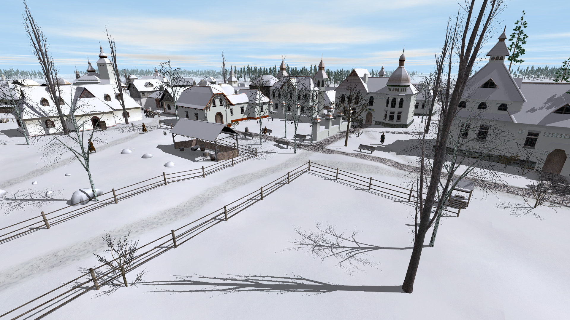 ostriv a city building game image indie db